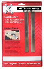 UNE PAIRE DE LAMES 200mm long pour le KITY MEILLEURE COMBI HSS 2002025