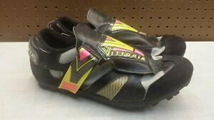 Vittoria mountain bike cycle shoes men's 44 (10.5-11 US) Vintage