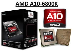 AMD A10-6800K Quad Core ''Richland'' Processor 4.1 - 4.4 GHz, FM2, 100W CPU