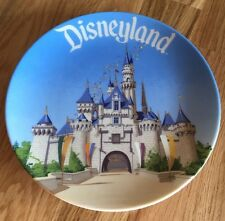 Vintage Disneyland Souvenir Plate Made in Japan Collector Walt Disney World 6 in