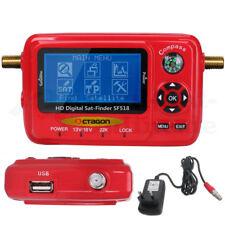 ► Octagon Sat-finder Appareil De Mesure LCD sf518 HD & milmeit 4k USB 2.0 Spectre