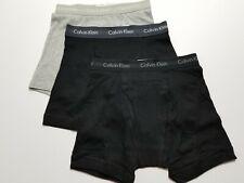 Calvin Klein Boxer Briefs - Small - Black - Gray - 3 Briefs