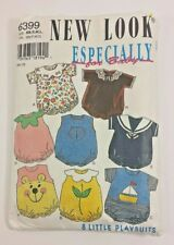 New Look Especially for Baby Romper New Born S M L Sewing Pattern 6399 Uncut