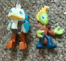 Disney Merc Ostrich/Alien pair Figurines Cake Toppers Miles From Tomorrowland