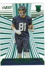2016 Panini Clear Vision Rookies RC Emerald Parallel /19 #140 Nick Vannett