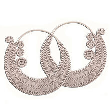 Thailand Earrings Karen Hill tribe Pure Silver