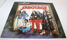 Black Sabbath Sabotage Vinyl LP Record VG+ 1980 Nems NEL6018 French Pressing