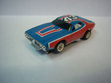 AFX G+ NOS RARE Mail away PETTY DODGE CHARGER Red/Blue/Wh #43 NEW AURORA``LooK``