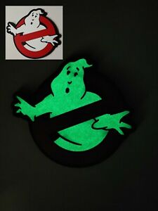 PVC Ghostbusters No Ghost Glow in Dark Movie VELCRO® BRAND Hook Fastener Patch