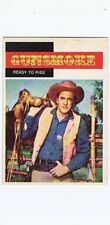 Topps 1958 Western TV Card #7, Gunsmoke, Ready to Ride, vintage non-sports card