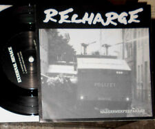 "RECHARGE: WASSERWERFERFAHRER / EXTERNAL MENACE: I'D RATHER BE DEAD 7 "" SINGLE"