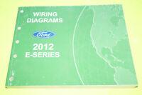 2012 Ford E-Series Econoline OEM EVTM Factory Wiring Diagrams Repair Manual