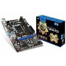 Cartes mères MSI pour ordinateur microATX Intel