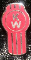 Kenworth KW hat pin lapel emblem decal plaque diesel badge truck cap w900 t680