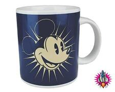MICKEY MOUSE VINTAGE RETRO STYLE OFFICIAL DISNEY MUG COFFEE CUP NEW IN GIFT BOX