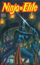 NINJA ELITE run (4) #1 #2 #3 #4 (1987) Adventure Comics FINE-