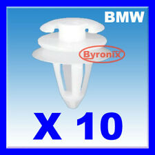 BMW DOOR CLIPS INTERIOR CARD PANEL TRIM E34 E36 E38 E39 E46 WHITE PLASTIC