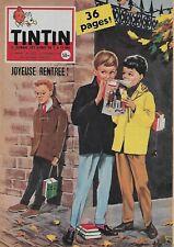 JOURNAL DE TINTIN N° 520 OCT. 1958 - SUPERBE COUVERTURE PAR ASLAN