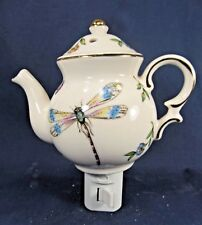 Night Light Dragonfly Teapot porcelain lamp home decor
