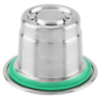 Reusable Stainless Steel Refillable Coffee Make Capsule Cup Filter for Nespresso