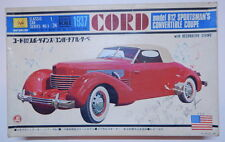Sankyo Motorized 1937 Cord Model 812 Sportsman's Convertible Coupe Sealed Conten