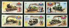 LIBERIA Sc#629-634 1973 Complete Locomotive set Mint NH OG VF/XF (18-65)