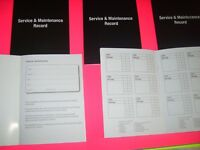 Service Book Blank Replacement Maintenance Record Vauxhall Astra Vectra Corsa