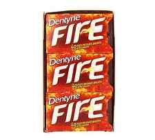 Dentyne Fire Sugar-Free Gum, Spicy Cinnamon 9 pack (16 ct per pack) (Pack of 2)