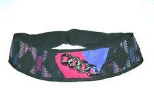 Vintage Stijfselkissie Marijke Benedict Belt Metal Chain Lace sz M