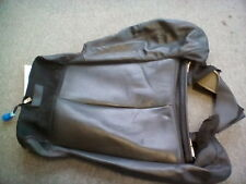 2009-2011 Nissan Maxima Left Front Seat Cushion Cover - Black Leather OEM