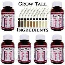 BE TALLER - POWERFUL BONE SUPPLEMENT PILLS - 6 MONTH COURSE - FREE TRACKED P&P