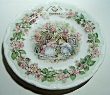 Royal Doulton Brambly Hedge, 6 1/4 Inch Plate, Summer