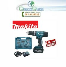 Trapano c/percussione 18V c/2 batterie LI-ION 3.0A Makita - DHP453RFX4