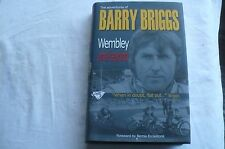 "SPEEDWAY ""Wembley e oltre"" Barry BRIGGS copia firmata HD/BK in Giacca"