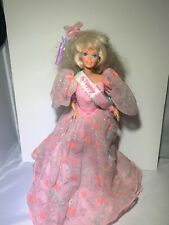 Barbie Happy Birthday Doll Pink Gown 1990 Mattel #7913 Special Edition Vintage