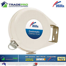 Hills® Genuine Cordomatic Clothes Dryer Retractable Clothesline 15m Airer SIngle
