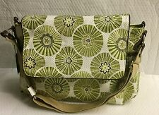 Display Oi Oi  Deluxe Nappy Bag Flower Pattern Change Mat Baby Travel