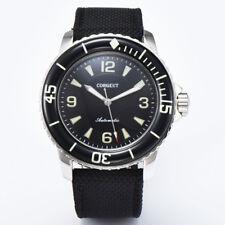45mm CORGEUT black dial miyota super luminous 8215 Automatic mens watch