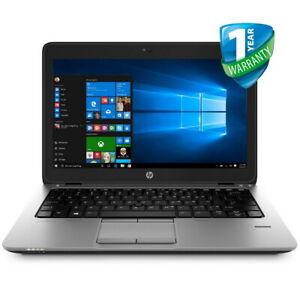 HP Elitebook 820 G2 12in Laptop i5 i7 5th Gen 8GB RAM 256GB SSD