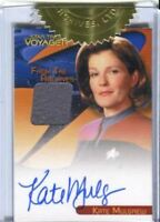 The Quotable Star Trek Voyager Kate Mulgrew Autograph Costume Card