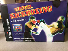 TV SDW Virtual Fighter Games! Use your arms and legs to fight! Kickboxing