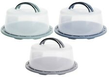 Cake Carrier Large Lockable Plastic Cake Storage Container Cake Dome With Lid