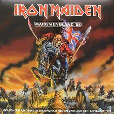 IRON MAIDEN - MAIDEN ENGLAND '88  2 VINYL LP 18 TRACKS HARD & HEAVY / METAL NEU