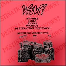 Destination Unknown by Ickle Pickle Products - Great Pocket Mentalism Effect!