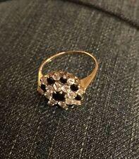 Cubic Zirconia Engagement Costume Rings