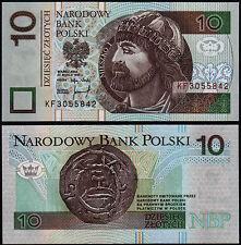 Polonia 10 zloty (P173a) 1994 (1995) UNC