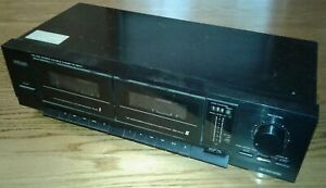 TEAC Model EW-550 Stereo Double Cassette Deck, prior DJ use
