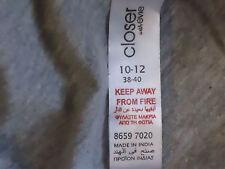 CLOSERwithEVIE MetallicPrintHotPinkTrim83%Cotton Sz1012 NWoT
