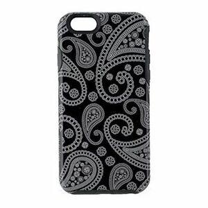 M-Edge Echo Series Hybrid Case for Apple iPhone 6/6s - Black Paisley