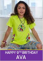 Kouvr Annon TikTok Influencer Birthday Card A5 Personalised own wording
